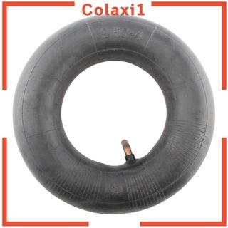 """[COLAXI1] 2.50""""X4""""2.50-4 2.5-4 2.50 /  4黑色橡膠輪胎內管彎曲閥桿"""