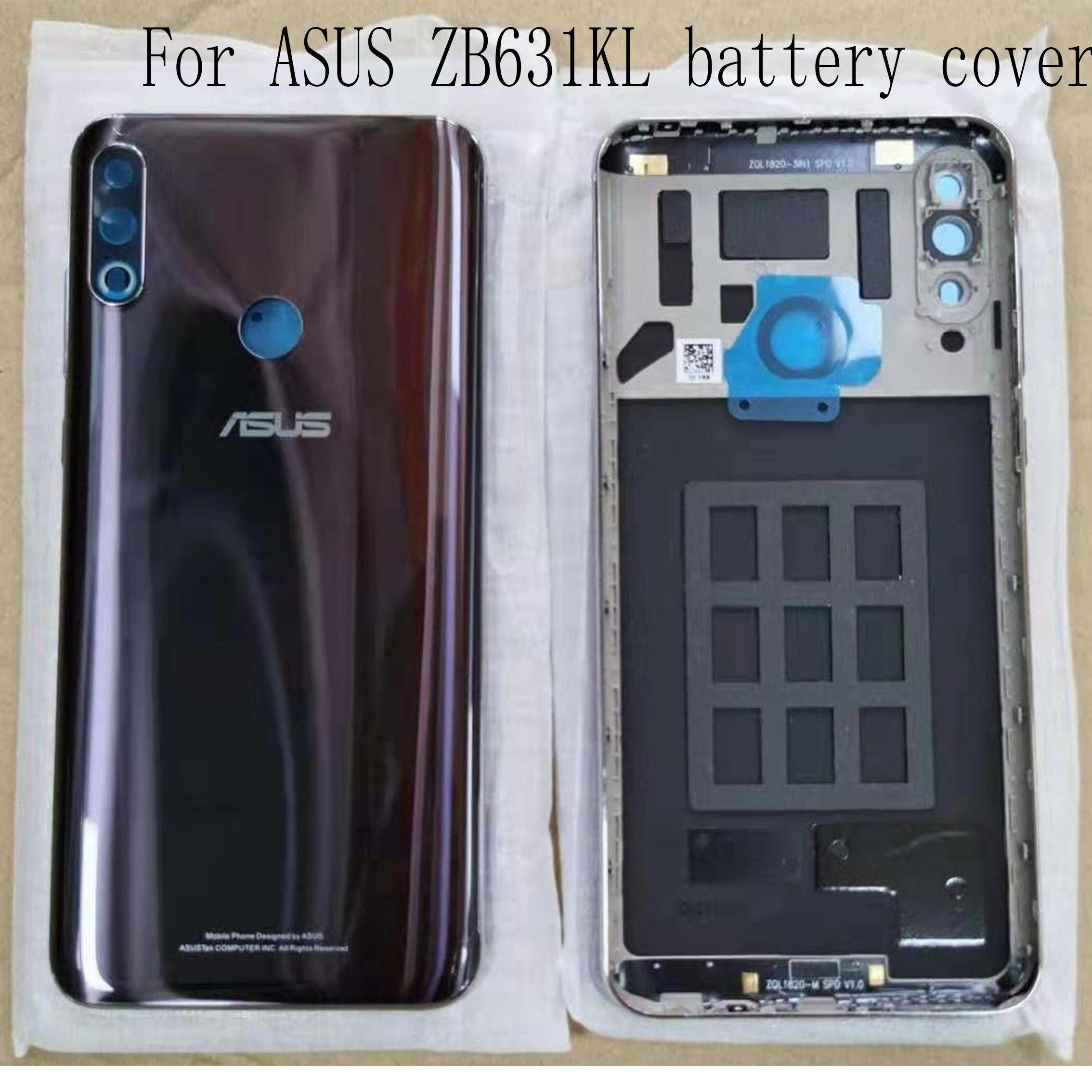 華碩 Zenfone Max Pro M2 Zb631Kl 後電池蓋維修部件, 帶鏡頭和膠水更換零件的新型後殼體 6.2