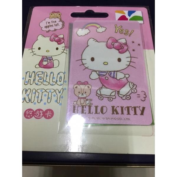 全新絕版hello kitty悠遊卡-溜冰一張直購1800元