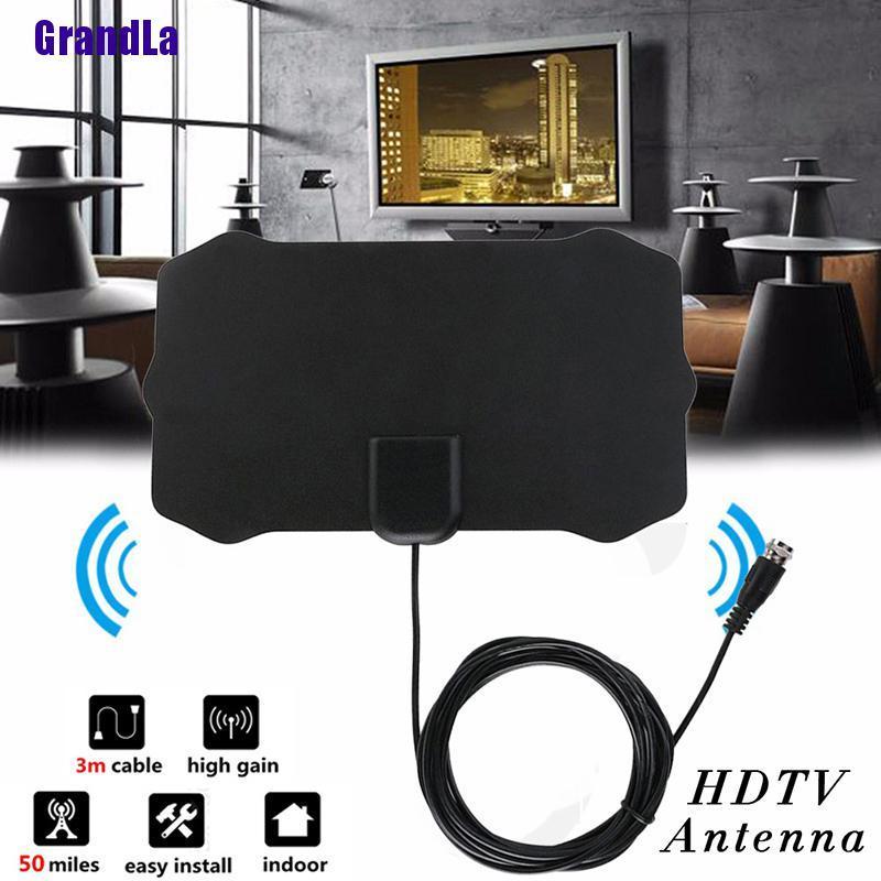 4k 1080p 室內數字高清電視天線信號放大器增強器天線