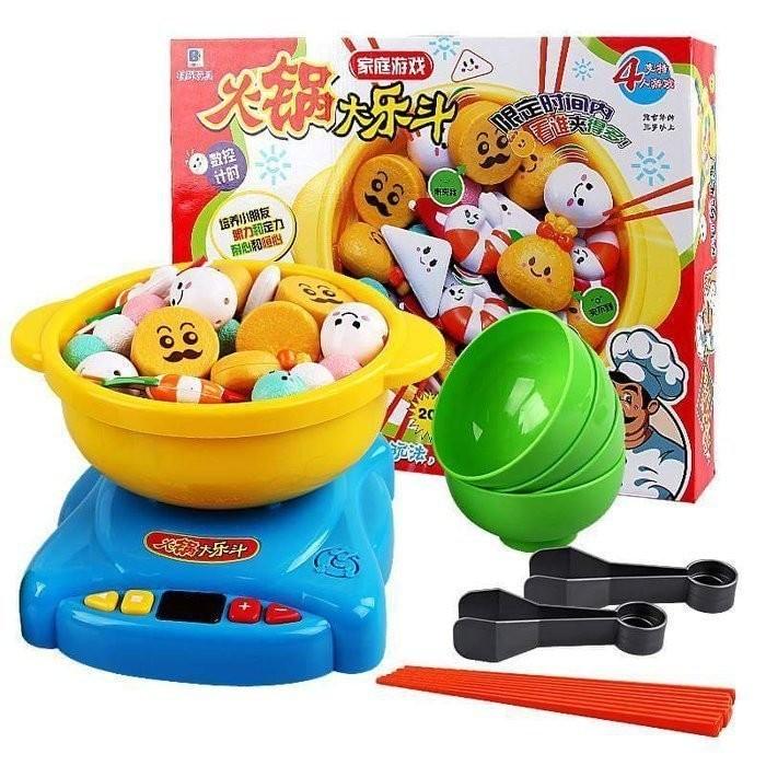 佳佳玩具 ----- 超級火鍋大樂鬥 日式火鍋夾夾樂 仿真火鍋玩具 附小朋友筷子 桌遊 團康 【CF125976】