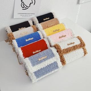 今年流行送女友手工編織包包diy材料包手織冰條線毛線網格自制包