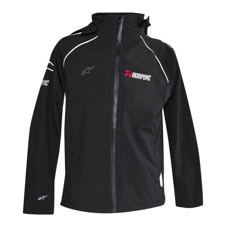 【上元車業】正版Akrapovic  X Alpinestars 聯名軟殼外套 騎士外套 防風 防潑水