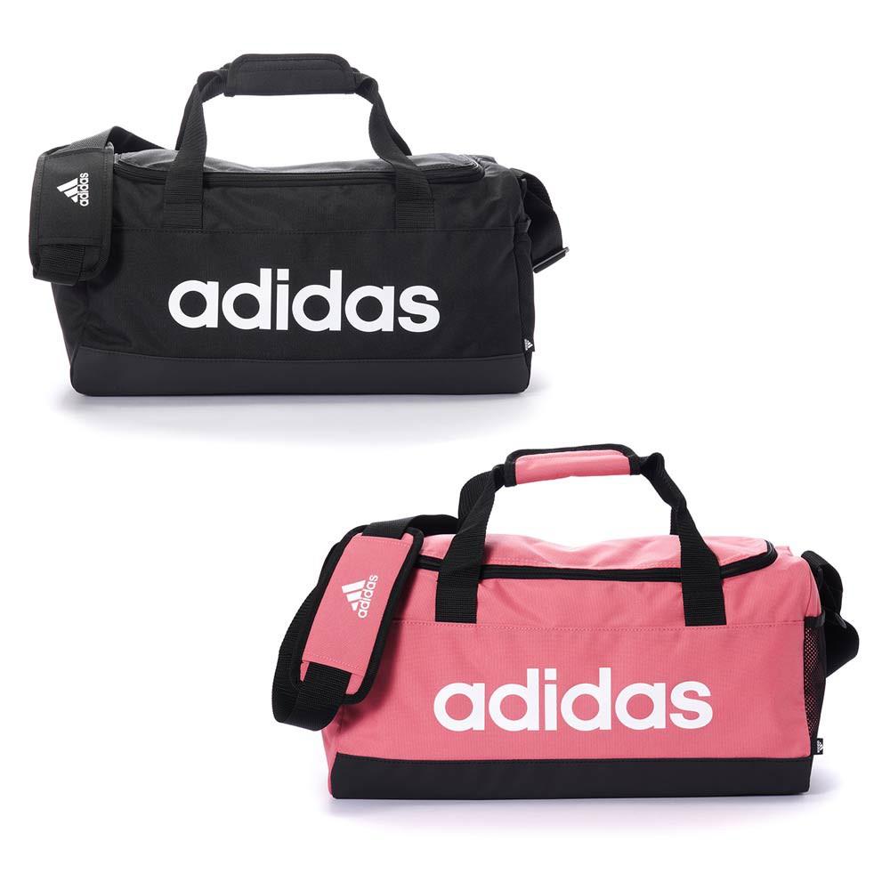 ADIDAS LINERA DUFFEL S 運動 提袋 圓筒包 健身包 GN2036 粉 GN2034 黑