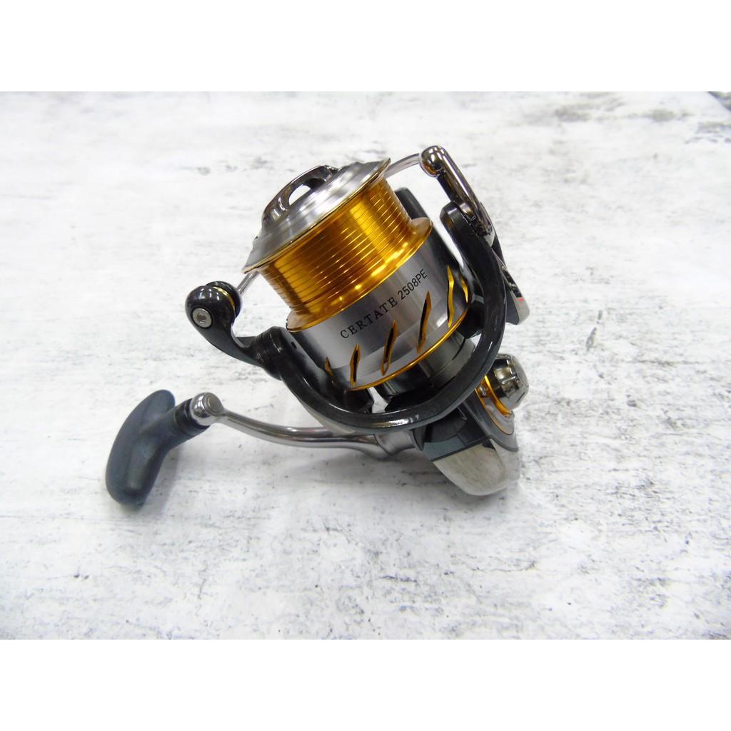 源豐釣具 特價優惠中 DAIWA CERTATE 紡車 捲線器 2508PE 淺線杯 海釣 路亞 軟絲可用 日本製