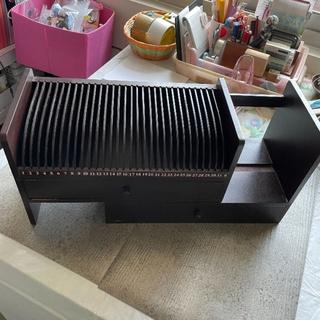 二手 可伸縮多功能木頭書架 桌上收納 臺北市