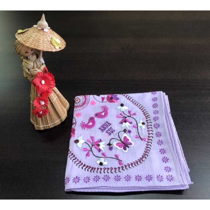 茗尚堂-ANNA SUI絲巾