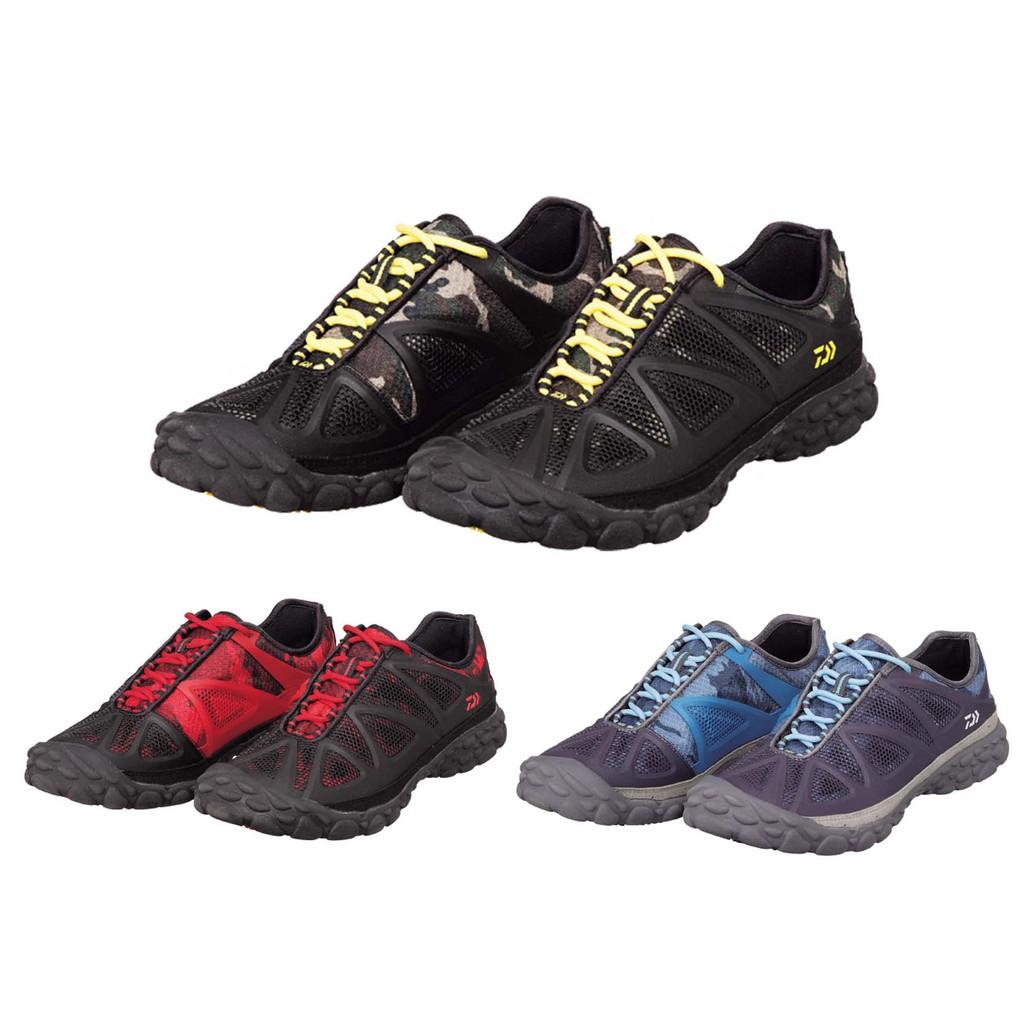 (桃園拓源釣具) DAIWA DS-2301HV 釣魚防滑鞋 黃色/紅色/藍色 四款尺寸