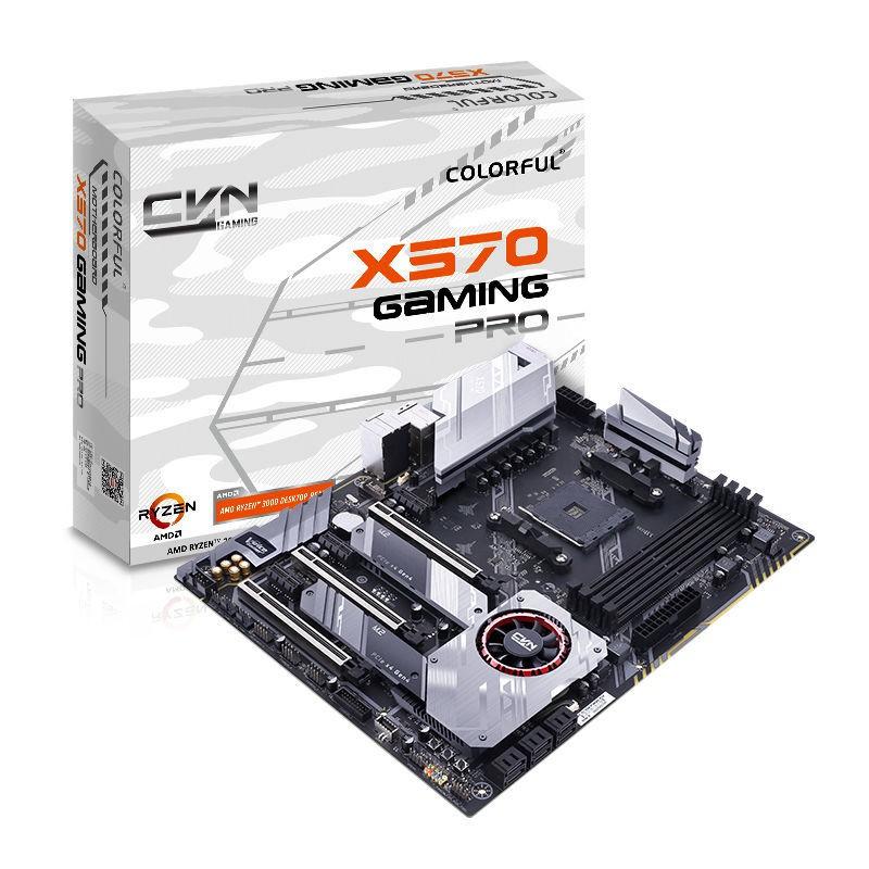 【新品爆款】七彩虹X570主板 電競游戲臺式機AMD主板 支持5600X/5800X/3900X