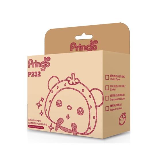 ☆HiTi Pringo P232 經典相紙108張*5盒