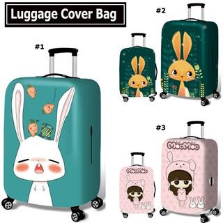 2019行李箱保護套拉桿箱套旅行彈力套防塵加厚耐磨行李箱套防刮痕18吋20吋26吋28吋30吋卡通