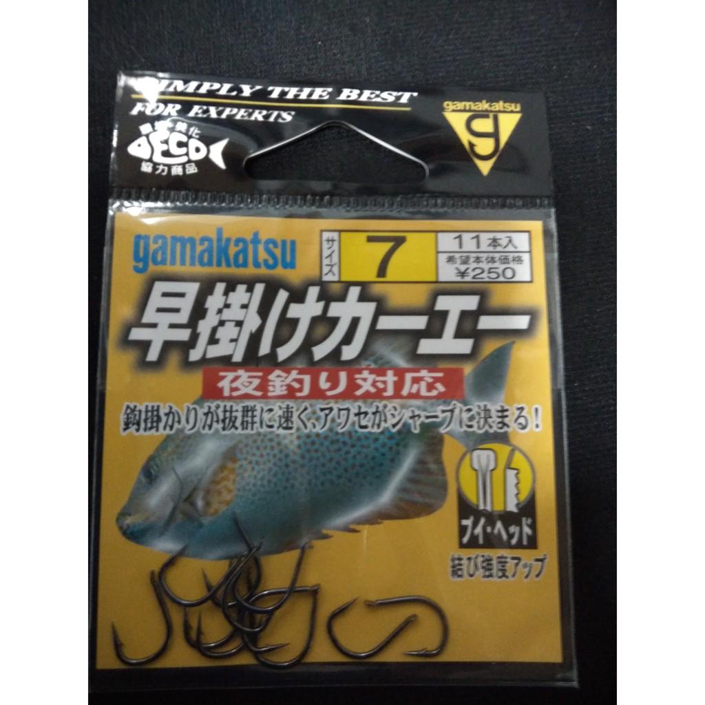 【舞磯釣具】gamakatsu 早掛 力一工一 魚鉤 釣鉤