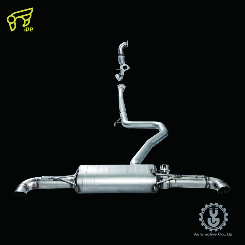 IPE 高流量帶三元催化頭段 當派 排氣管 BENZ/AMG A250(W177)底盤系統【YGAUTO】