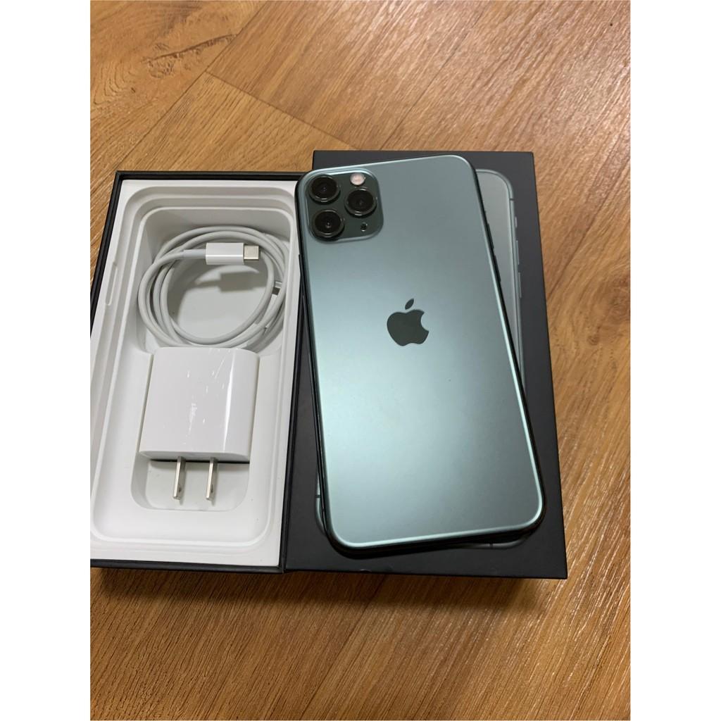 二手 iPhone 11 pro 256G 夜幕綠 高雄面交 10倍蝦幣