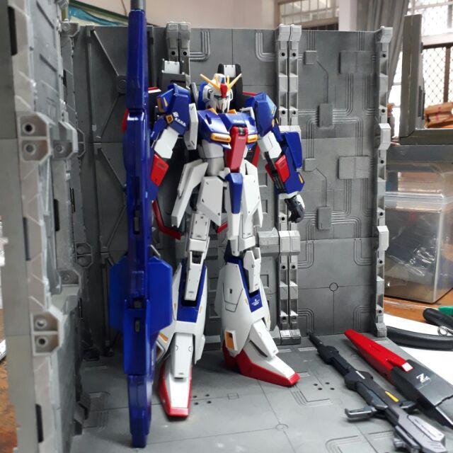 GUNDAM 鋼彈模型Z鋼彈MG版2.0完成品