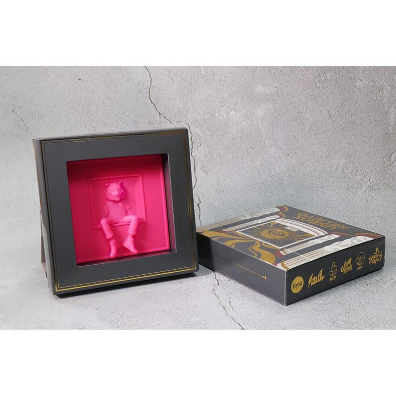 【撒旦玩具 SatanToys】預購 UNBOX 經典角色 RELIEVO 3D浮雕畫 盲盒 江大叔 胖子 ABAO