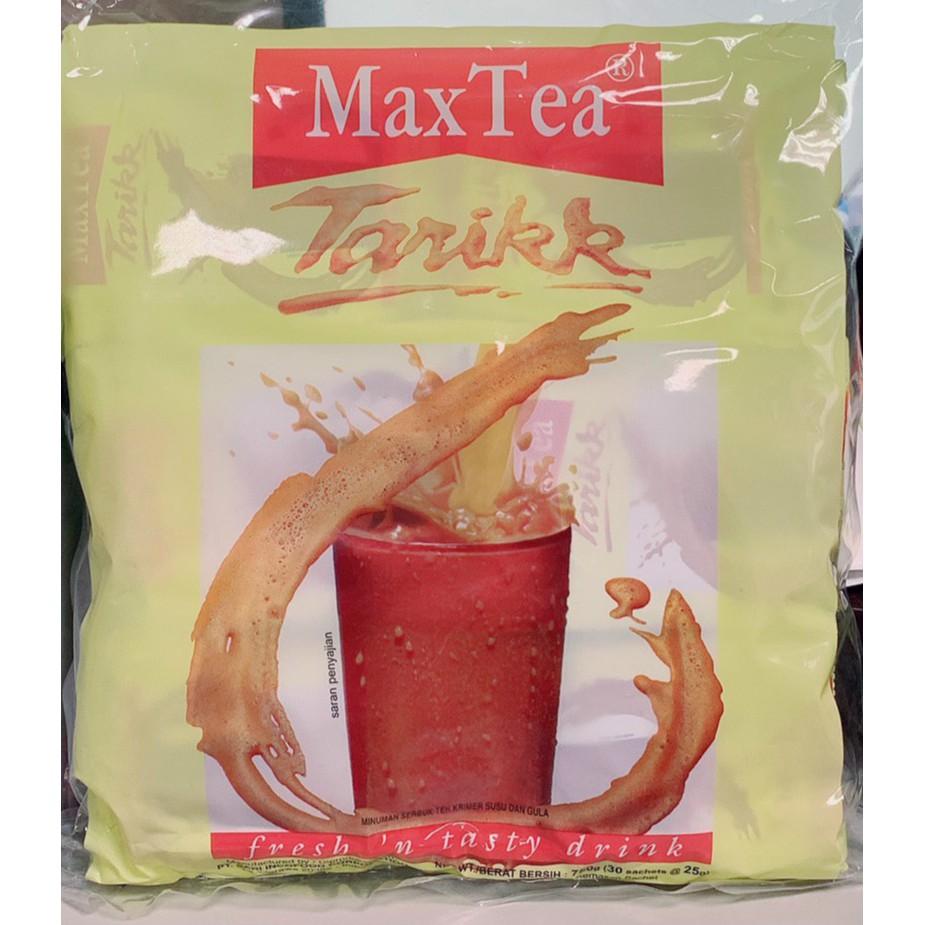 【哈帝百貨】 熱銷 MaxTea 奶茶 印尼拉茶 美詩泡泡奶茶 一袋 30包 沖泡 熱飲 香濃 隨身包 【RA1128】