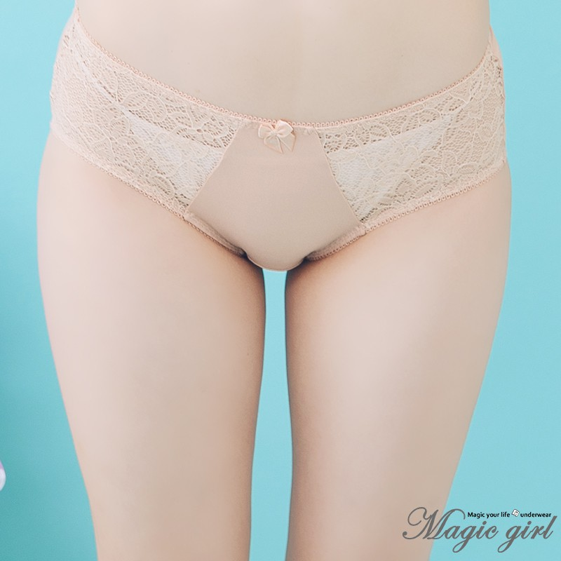 Magic girl美衣魔櫥 迷幻香頌 單件配褲【FREE】台灣製 2色 膚色 黑色