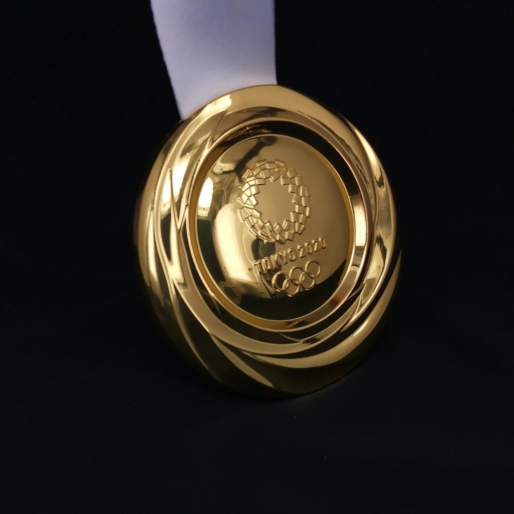 🌸阮馨生活居🌸 奧運限定😎現貨2020東京獎牌 個人紀念品禮品收藏 金屬金銀銅運動會掛牌