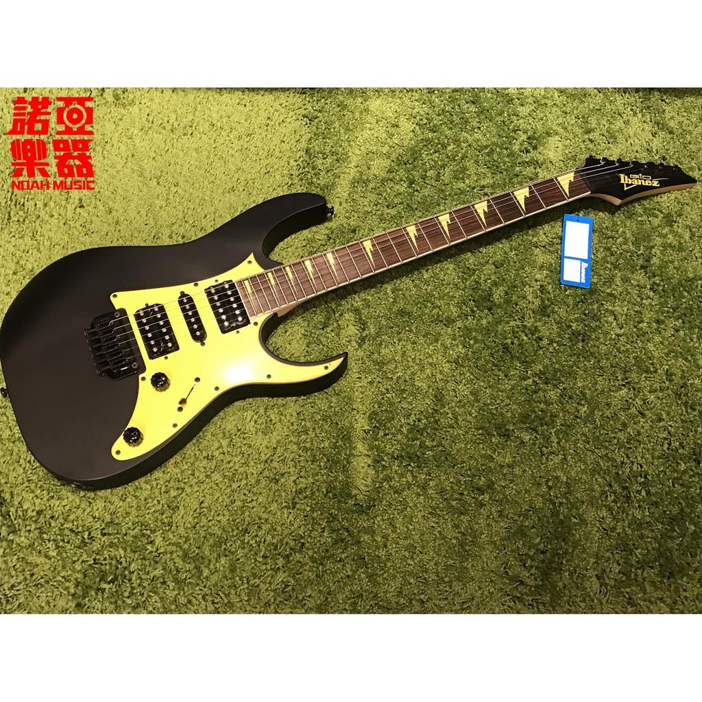 【諾亞樂器】全新 免運 IBANEZ GRG 150DXB 電吉他 勁酷黃黑色 雙單雙 小搖座