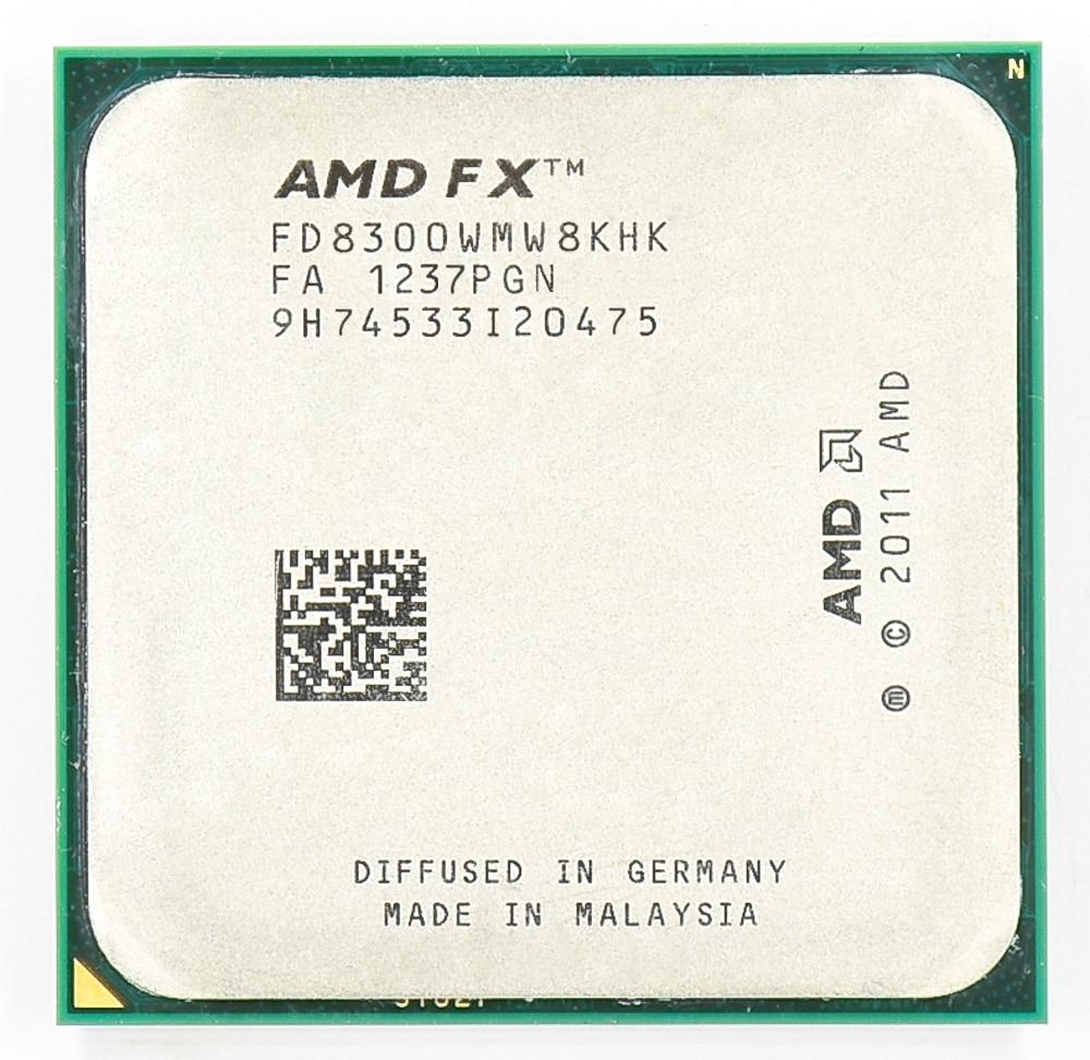 AMD FX 8300 AM3+ 3.3GHz/8MB/95W Eight Core CPU processor