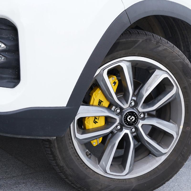 適用於亞洲龍剎車卡鉗罩八代凱美瑞輪轂改裝鋁合金剎車鉗鮑魚裝飾