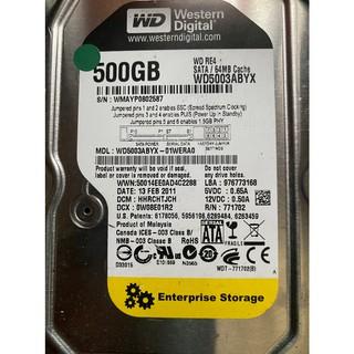 WD 威騰 3.5吋 500GB 黑標 藍標 綠標 電腦 SATA 大容量 內接硬碟 全部測試 2手良品 新北市