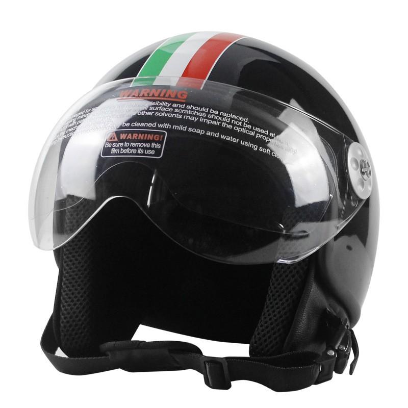 VOSS夏季復古哈雷安全帽 摩托車頭盔 四季通用電動車 哈雷機車頭盔 男女通用