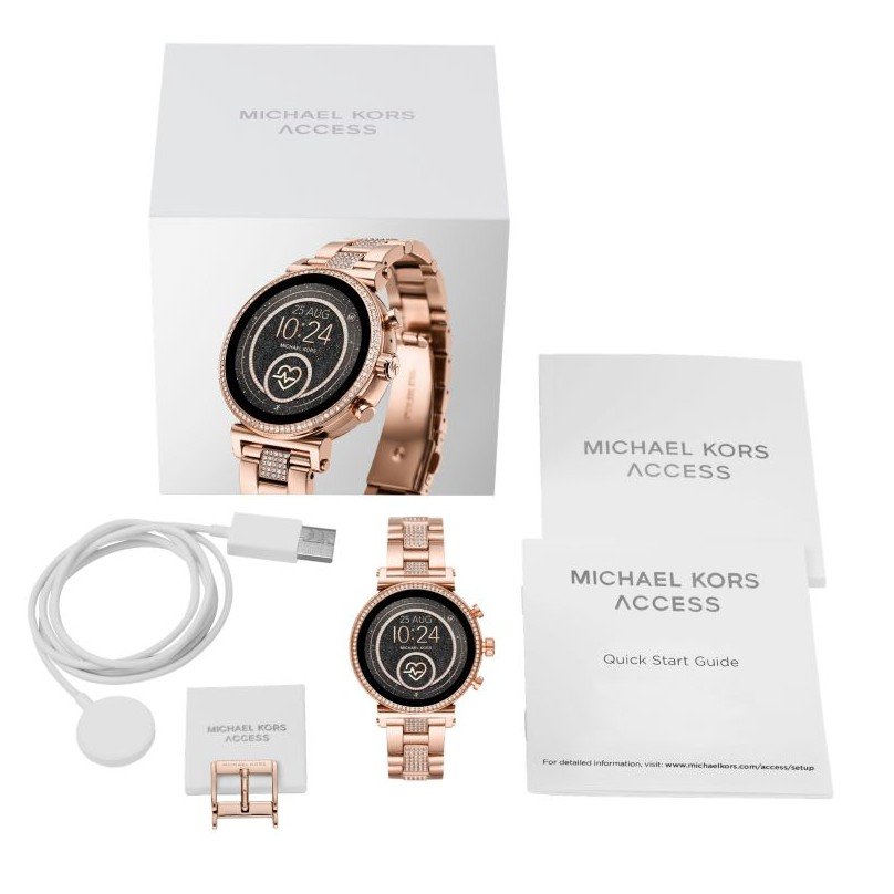 MICHAEL KORS™ 智慧手錶 心率偵測 NFC GooglePay mk手錶 google手錶