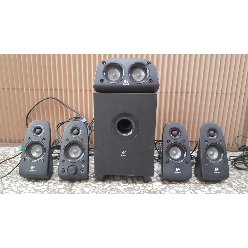 Logitech 羅技 Z506 5.1聲道音箱系統 環繞音效音箱 喇叭 音響