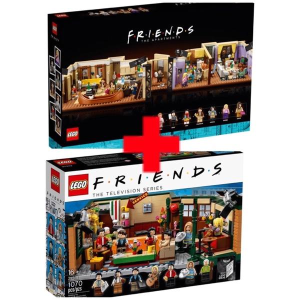 全新樂高LEGO 六人行 10292 公寓 21319 中央公園(面交價7200)