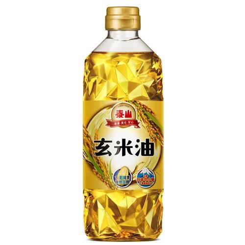 泰山玄米油600ML 買一送一【愛買】