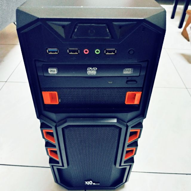 電腦主機 GTX750TI DDR3 8GB記憶體 固態120G