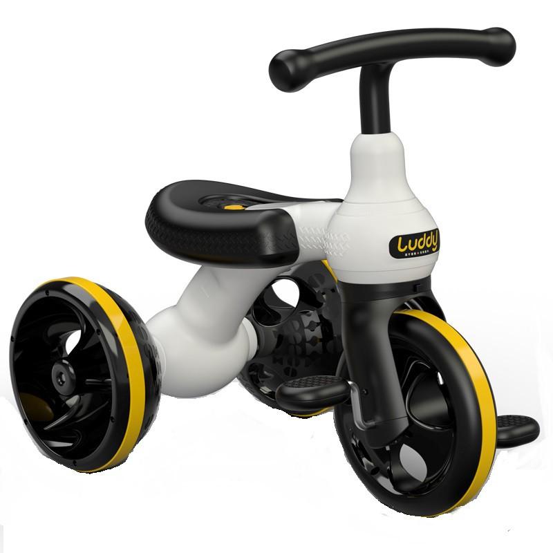 【全館免運】平衡車兩用兒童滑步三輪車男女孩自行車2-3-5歲寶寶腳踏單車