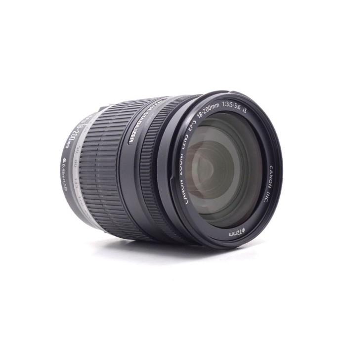 【莫比爾3C】Canon EF-S 18-200mm f3.5-5.6 IS 二手 旅遊鏡 鏡頭明顯落塵 #56444