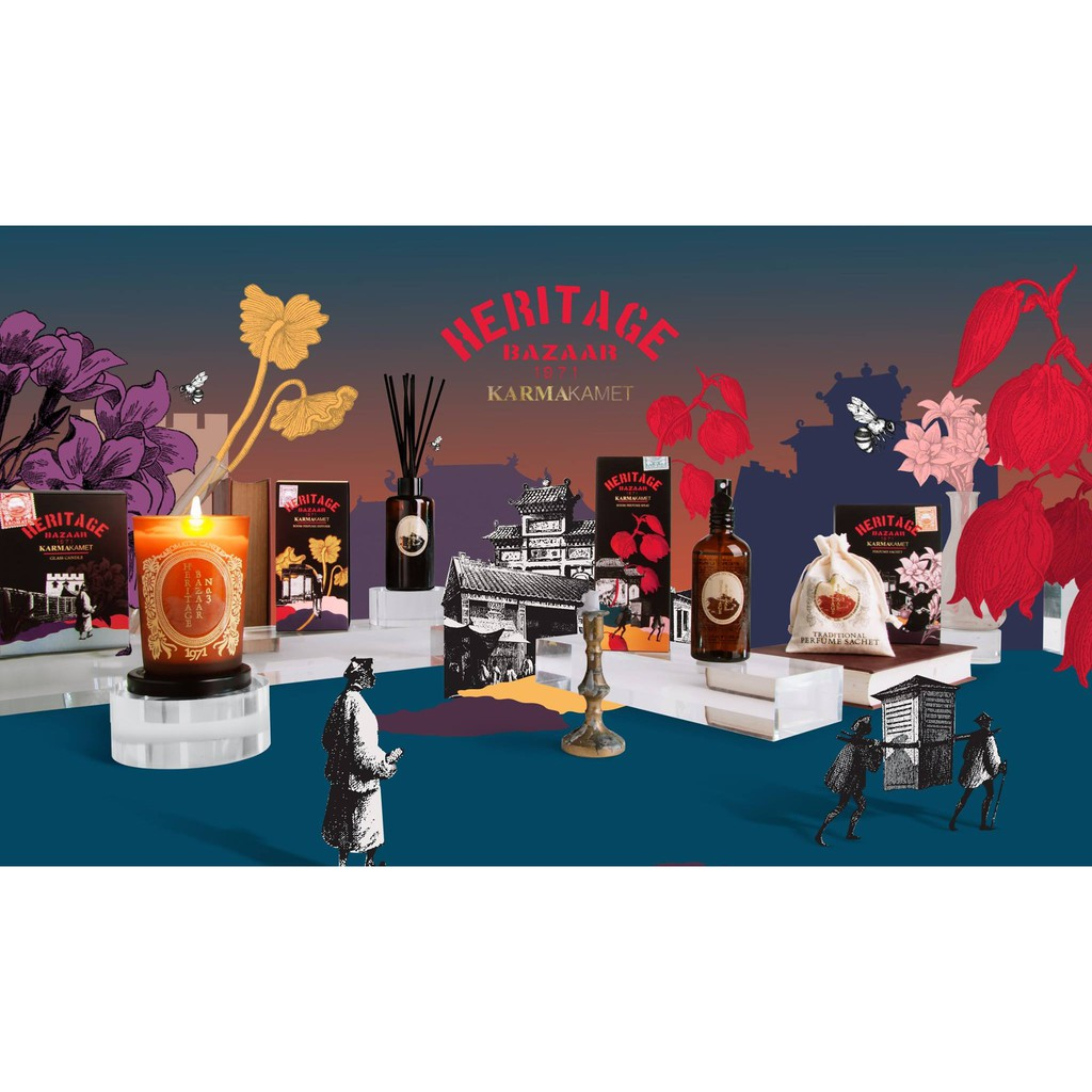 KARMAKAMET 三號傳統市集系列 擴香/噴霧/蠟燭/香囊 Heritage Bazaar No.3