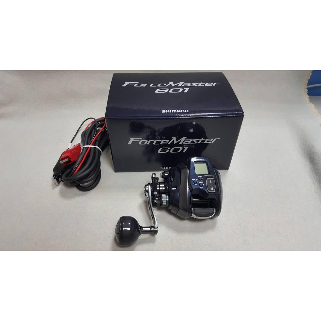 🔥【平昇釣具】🔥SHIMANO FORCE MASTER 601 左手 電動捲線器