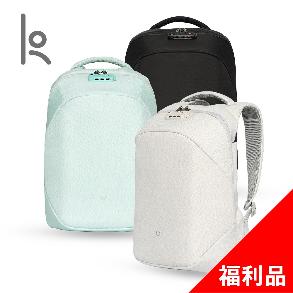 Korin Design 防盜後背包-簡配 -(福利品)ClickPack Joy【桃子良品旗艦館】