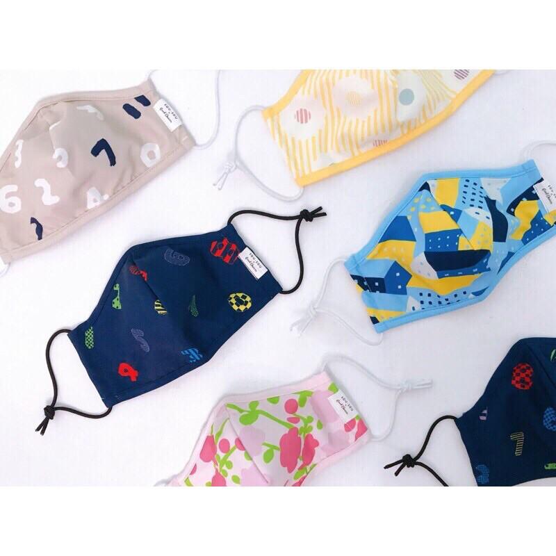 全新 SouSou 口罩 (左邊中間藍色口罩)
