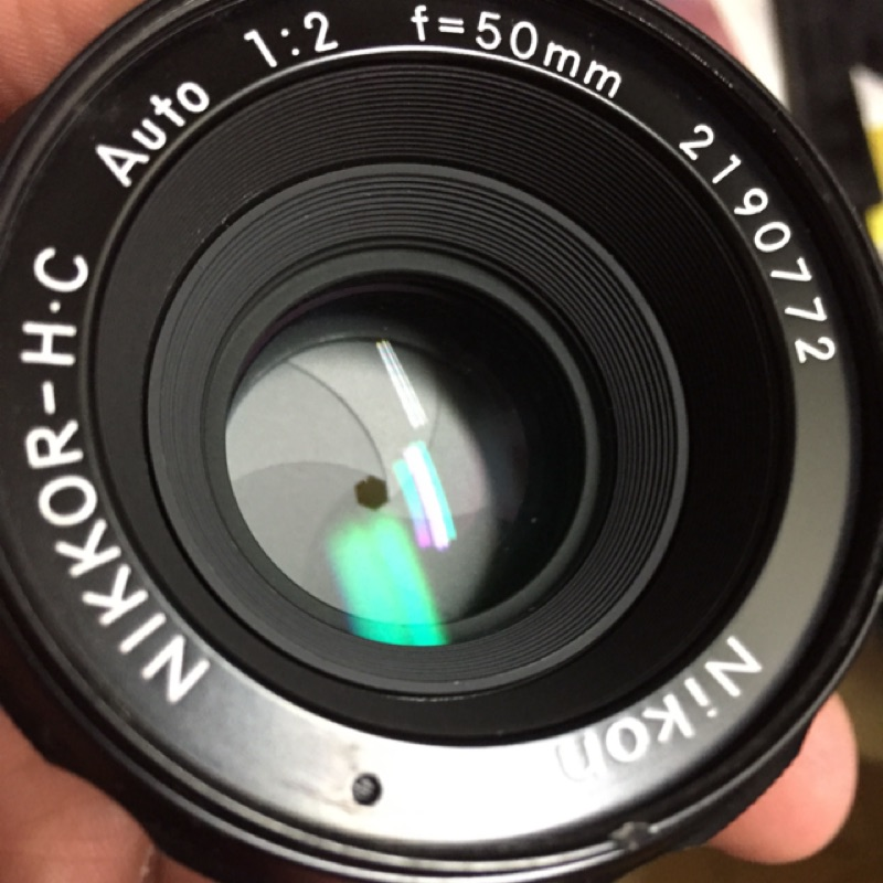 鏡頭 手動 Nikon non ai H C f2 50mm
