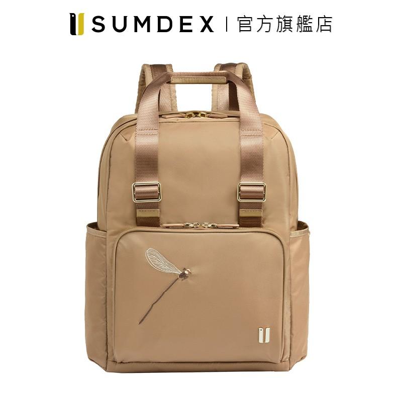 Sumdex 手提式雙用後背包(蜻蜓版) NON-705TN-DT 褐色 官方旗艦店