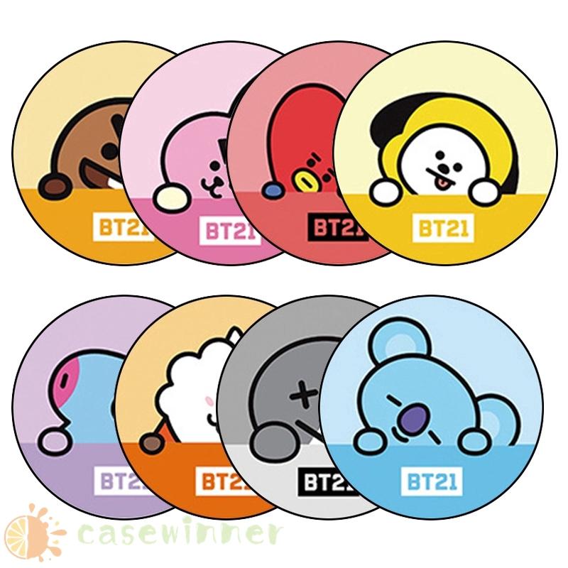 Popsocket 卡通設計手機座 BT21 BTS 手機座卡通 Popsockets BT21 BTS 時尚 Pops