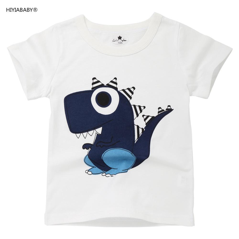 夏季兒童T恤短袖印花卡通男女童歐美寶寶休閑純棉中小童童裝