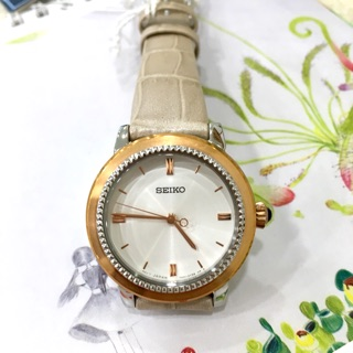 SEIKO精工 簡約三針優雅時尚女錶((SRZ452P1) 新北市