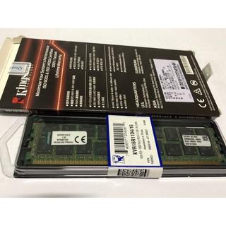 KVR16R11D4/ 16 金士頓 伺服器用 DDR3 1600 16G ECC & REG 記憶體 桃園市