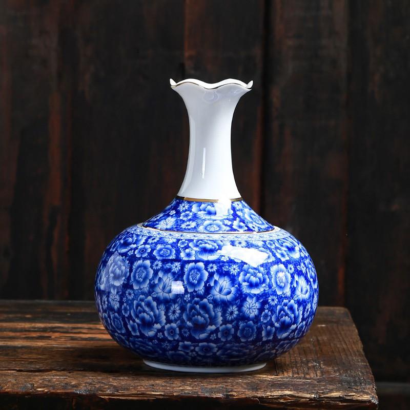 茶葉罐子陶瓷大號瓷創意個性時尚花瓶擺件密封存儲茶物罐家用茶葉