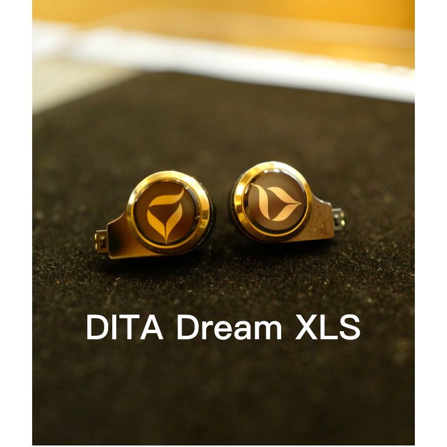 代購 DITA DREAM XLS 旗艦 耳道式耳機   線材OSLO金銀油浸線 2.5 / 4.4平衡 可面交