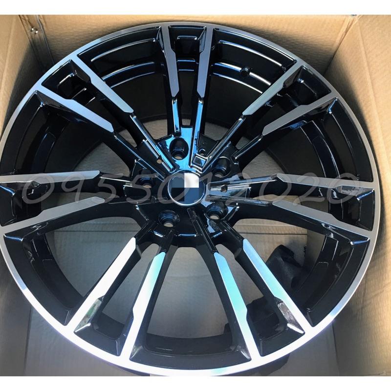 全新類BMW G90 M5式樣5孔112 19吋鋁圈G01/G02/G11/G12/G20/G30/G31/G32