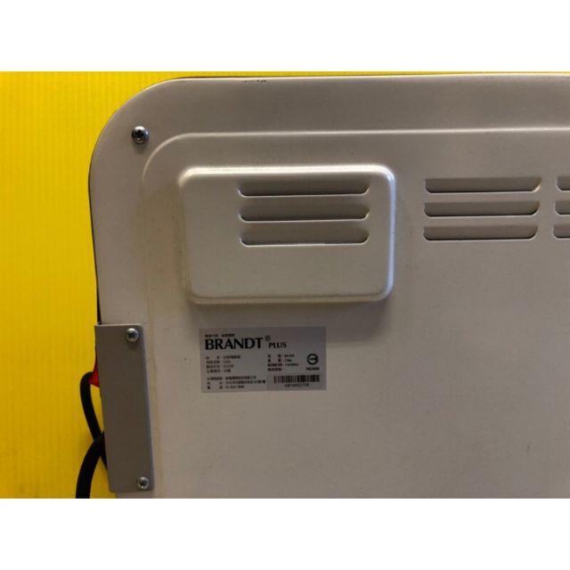 BRANDT白朗多功能超薄微調暖足電暖器BH-818 BRANDT白朗多功能超薄微調暖足電暖器BH-818