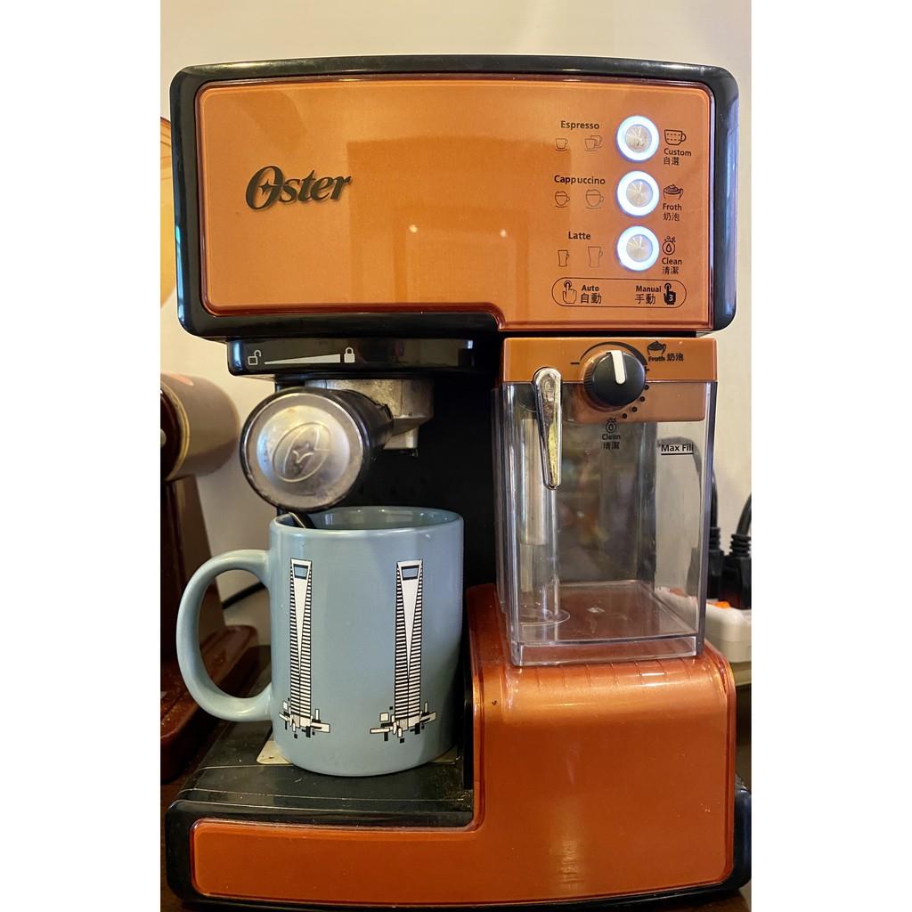 OSTER 奶泡大師義式半自動咖啡機,15 BAR便宜入門,二手品